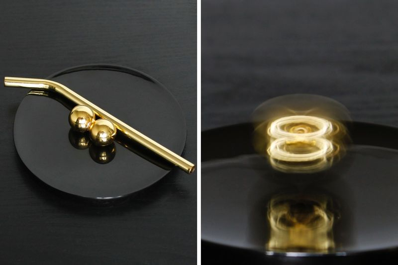 Gold-Plated Desktop Toys
