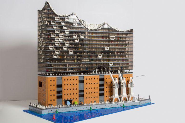 LEGO-Built Concert Halls