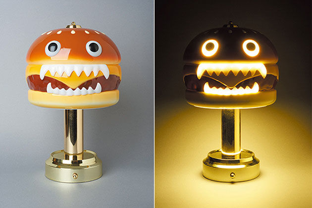 Hamburger Monster Lamps