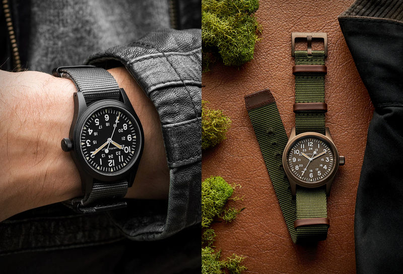 Classic Field-Ready Timepieces