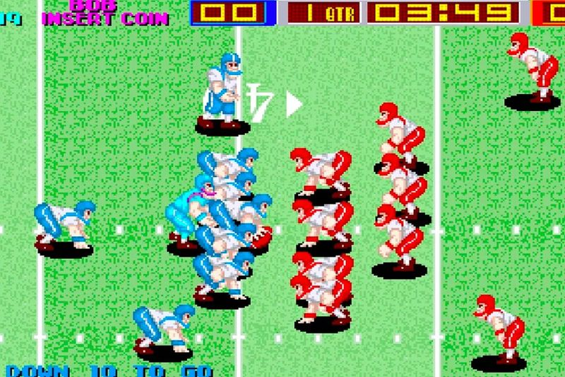 Updated Vintage Football Games