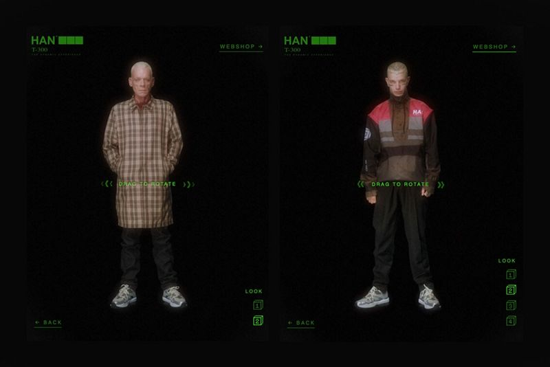 Technology Immersed Fashion Campaigns