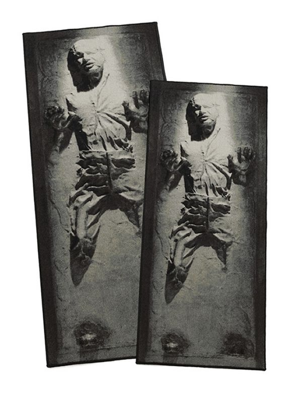 Heroic Frozen Carbonite Rugs
