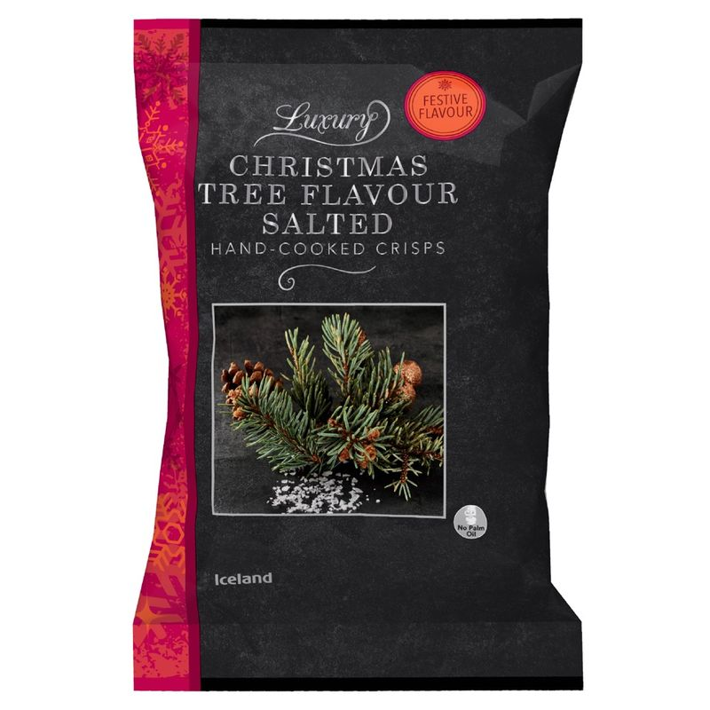 Festive Tree-Flavored Chips