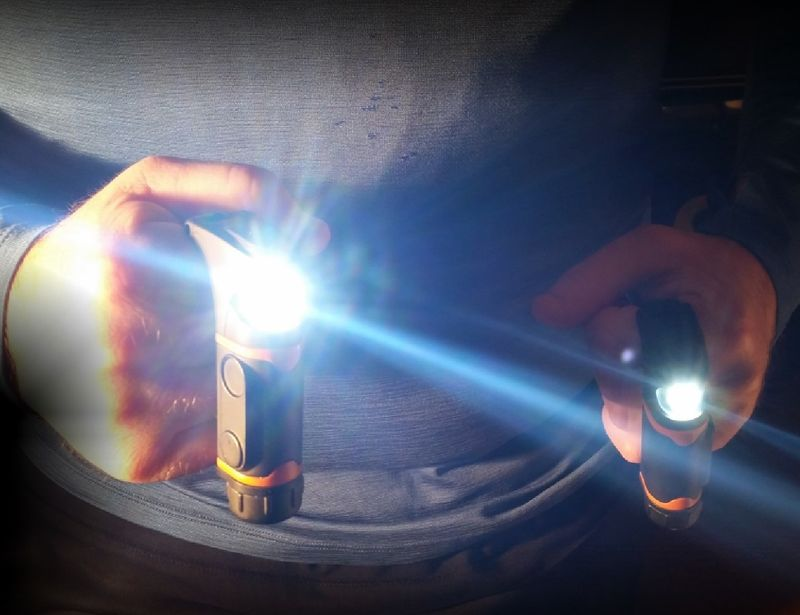 Wearable Hand Flashlights