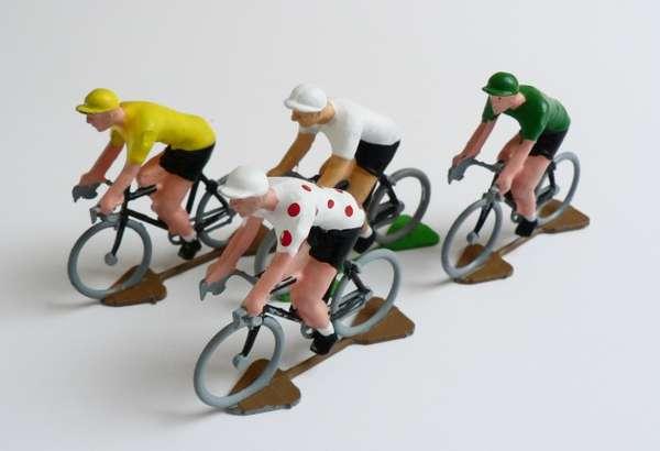 Miniature Peloton Models