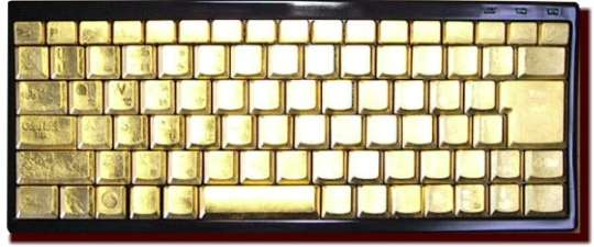 Hand Painted Keyboards Gold Boards Amp More