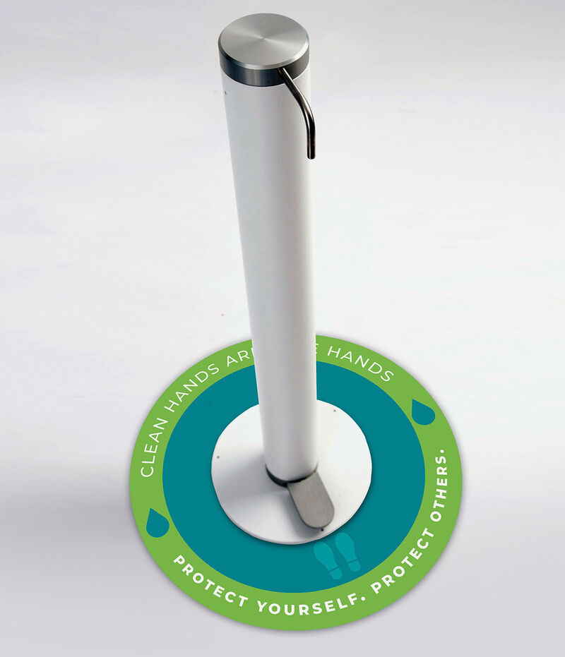 Customizable Sanitizer Dispensers