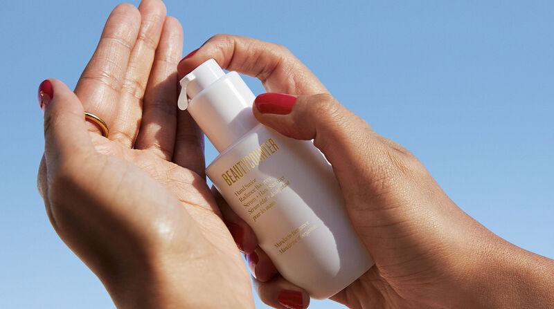 Radiance-Boosting Serum Sanitizers