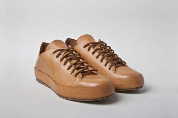 Hand Sewn Leather Sneakers