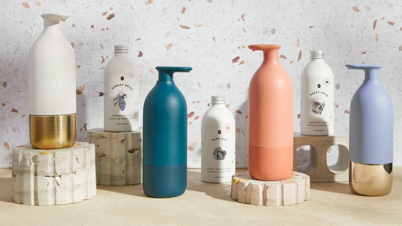 Simplified Soap Dispensers