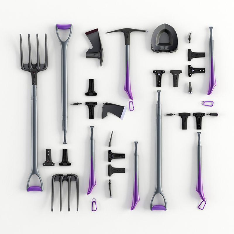 Modular Gardening Tools