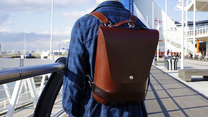 Durable Handcrafted Leather Backpacks