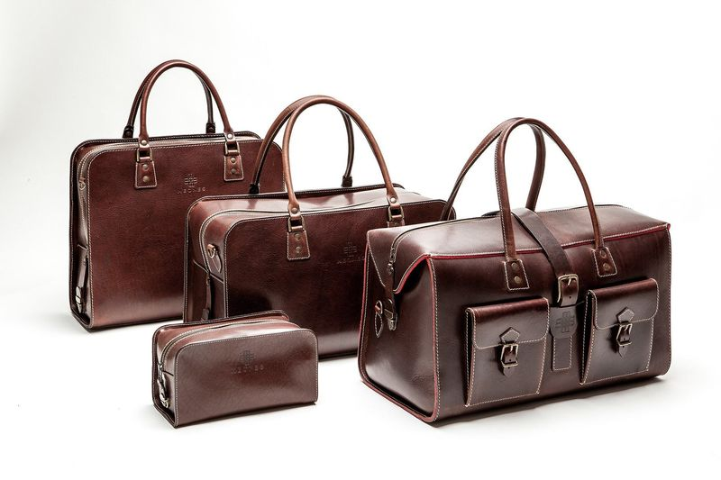 Morrocan Inspired Handcrafted Leather Bags : handcrafted