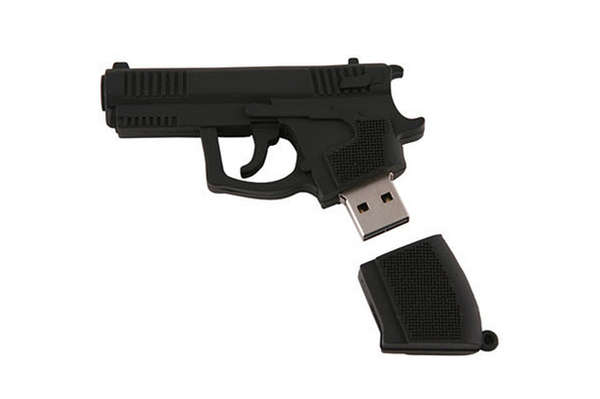 Firearm Flash Drives