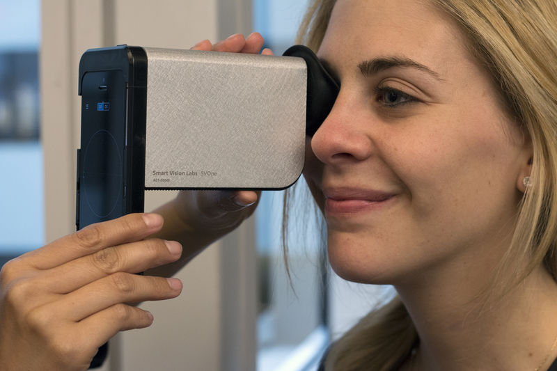 Handheld Eye Exam Devices