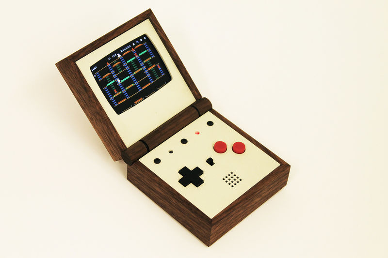 Wooden Handheld Video Games