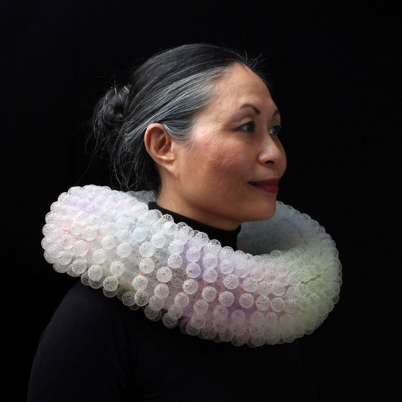 Science-Inspired Hand-Knit Jewelry