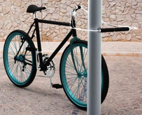 how to break a bike lock