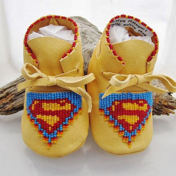 Comic Hero Moccasins