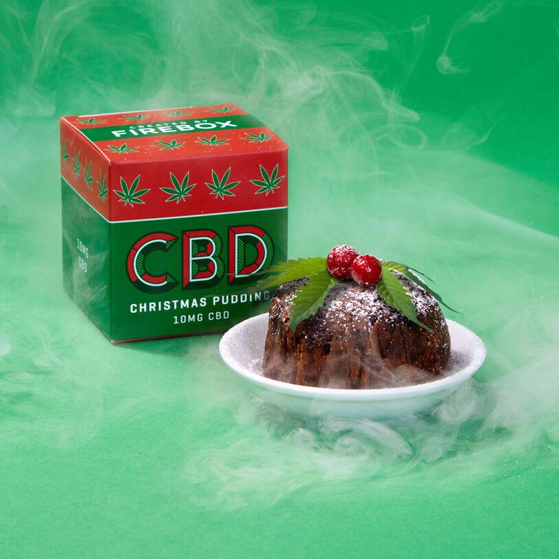 Festive CBD-Infused Puddings