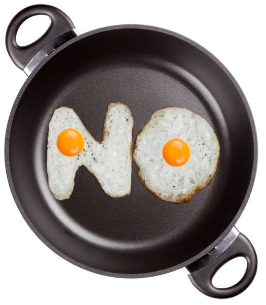 Fried Egg Typography