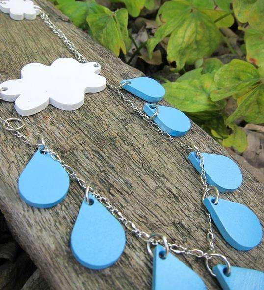 Forecast-Themed Necklaces