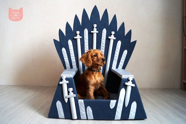 TV-Inspired Handmade Pet Beds