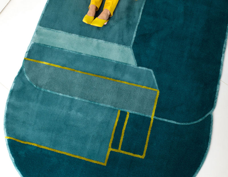 City-Inspired Handmade Rug Designs
