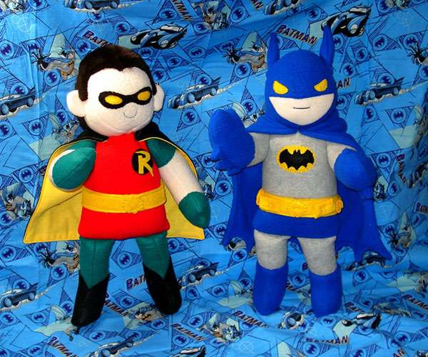 Cute Comic Book Plushies