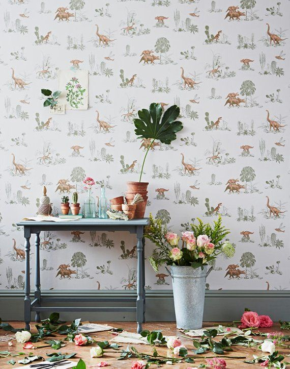 Intricate Hand-Painted Wallpaper Designs