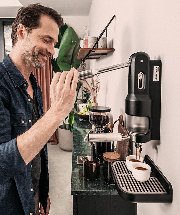 Mountable Manual Espresso Makers