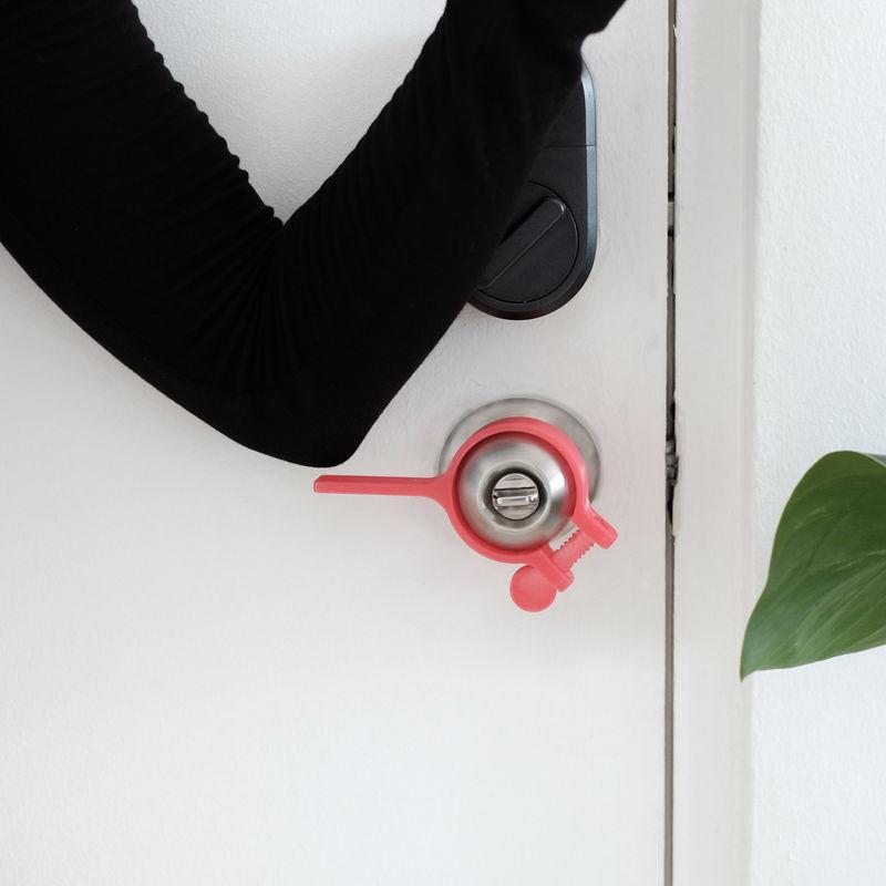Hands-Free Doorknob Attachments