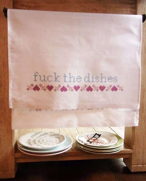 Vulgar Tea Towels