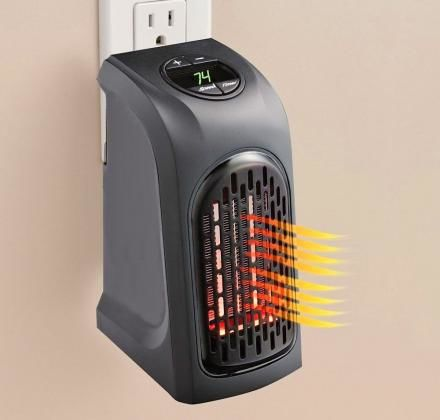 Portable Outlet-Mounted Heaters
