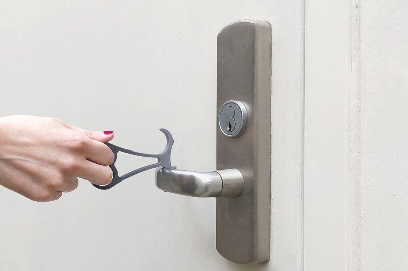 Anti-Contact Door Opener Keychains