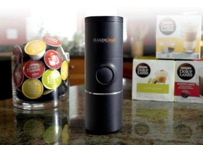 Portable Coffee Pod Brewers