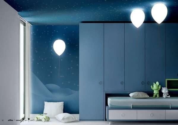 Whimsically Hanging Balloon Lights