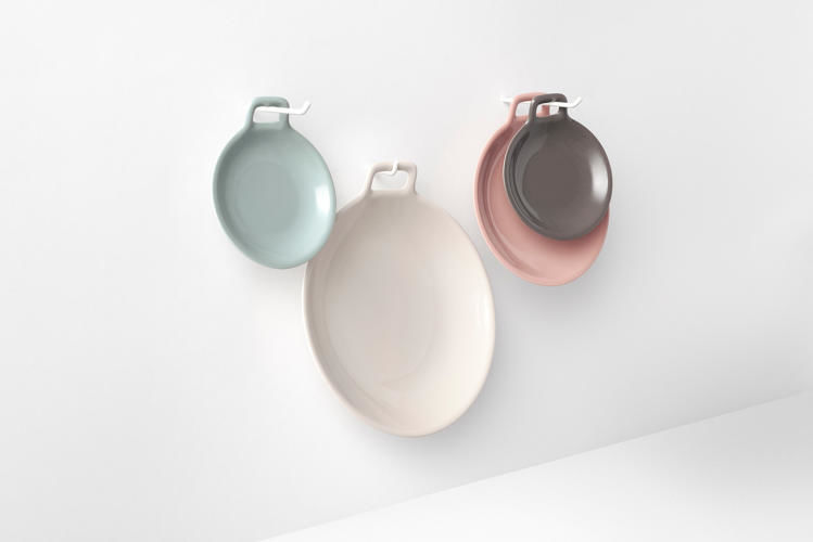 Compact Hanging Dishes
