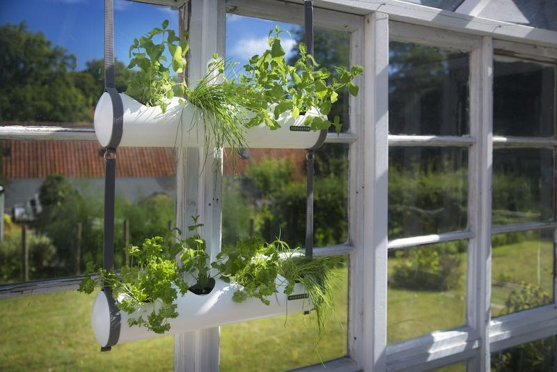 Space-Saving Gardening Tubes