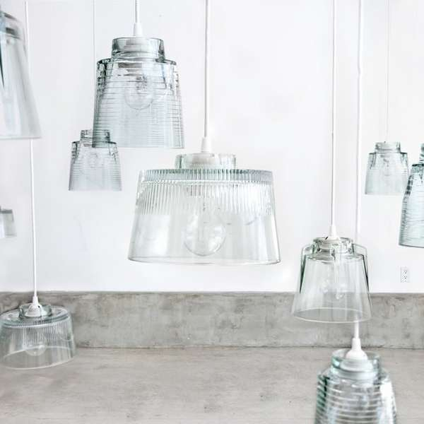 Suspended Jar Lights