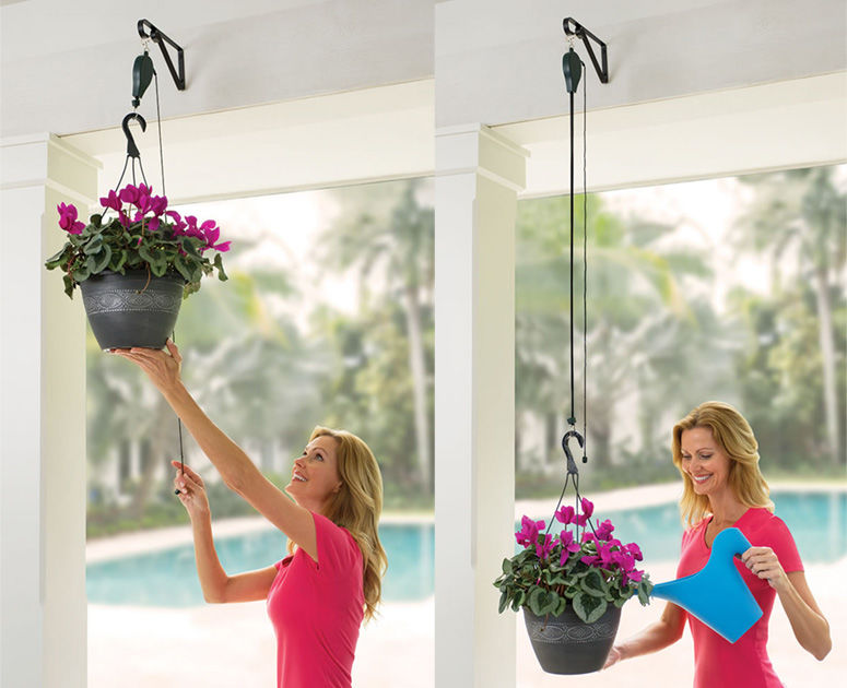 Accessible Planter Pulleys