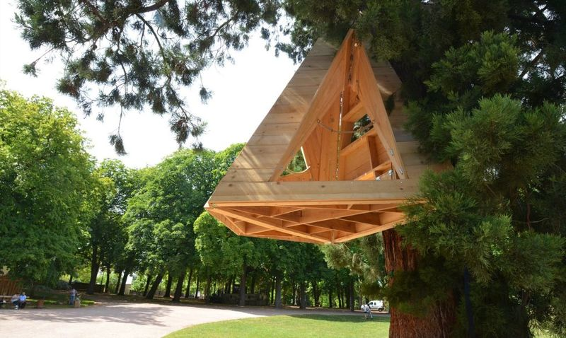 Hanging Treehouse Homes