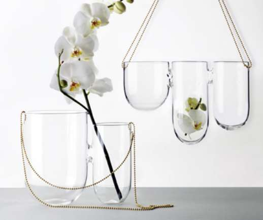Chain Mounted Planters Hanging Vase