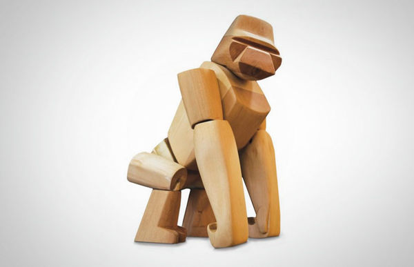 Great Ape Wooden Toys