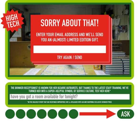 Interactive Staff-Training Ads