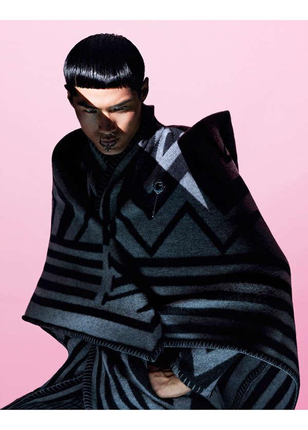 Samurai-Inspired Winterwear