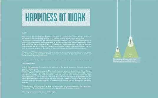 Happiness-Encouraging Work Infographics
