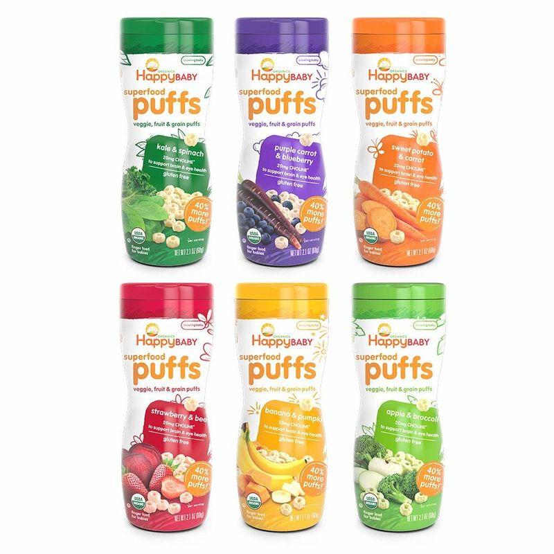 Mindful Organic Puffed Snacks