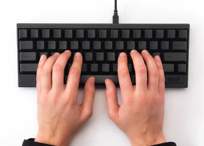 Minimalistic Hacker Keyboards